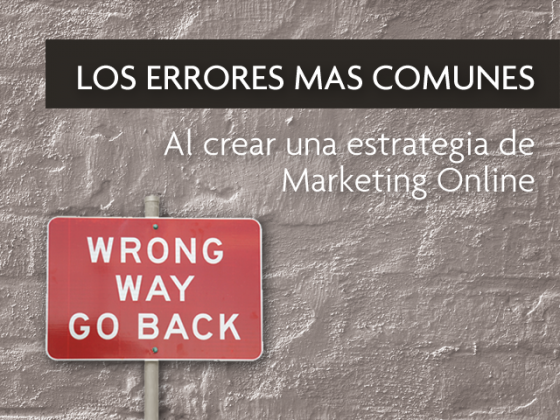 Errores frequentes en el Marketing online